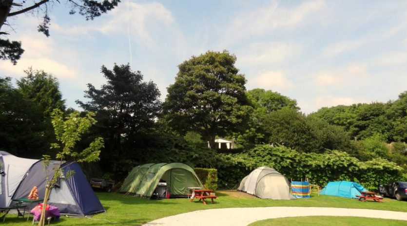 Our camping and caravan site